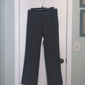 Petite Gray Express Editor Pants
